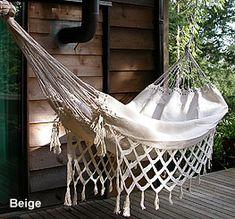 beige brazilian hammock with macrame fringes brazilian hammock pillow byer of maine   brazilian hammock      rh   pinterest