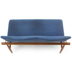 Japan Settee by Finn Juhl | From a unique collection of antique and modern sofas at http://www.1stdibs.com/furniture/seating/sofas/