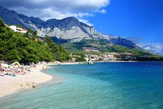 Croatia - the best beaches in Europe.  Just like Italy, only cheaper.