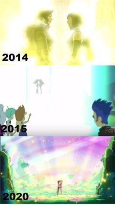 Korrasami,Sci-Sunlight and Catradora Comparison. by brandonale on DeviantArt My Little Pony Fanfiction, Yuri Anime, Korrasami, She Ra Princess Of Power, Cartoon Crossovers, Legend Of Korra, Aang, Gay Art, Owl House