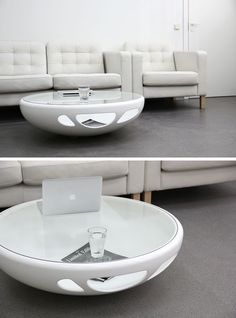 Furniture Ideas – Round Coffee Tables In Glass, Wood, Marble and Metal