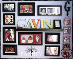 The Scrap Shoppe: Picture Frame Hanging Tip