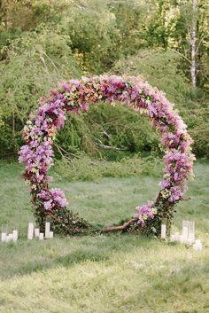 Metal Wedding Arch,Wedding Arch Flowers #weddingbackdrop #weddingideas #weddingdecor #weddingarch ❤️ http://www.deerpearlflowers.com/floral-wedding-arch-canopy-ideas/