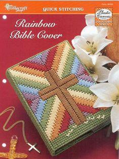 Bible Cover plastic canvas patterns