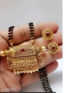Mangalsutra: free COD For enquiry and booking on WhatsApp Gold Bangles Design, Gold Jewellery Design, Gold Jewelry, Gold Bridal Earrings, Wedding Jewelry, Shoulder Jewelry, Gold Mangalsutra Designs, Geometric Jewelry, Trendy Jewelry