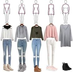 50 Back to School Outfits for Highschool to Start the Year Off Amazingly - Teenage outfits - Teenage Outfits, Teen Fashion Outfits, Mode Outfits, Trendy Outfits, Girl Fashion, Girl Outfits, Casual Teen Fashion, Style Fashion, Dress Outfits