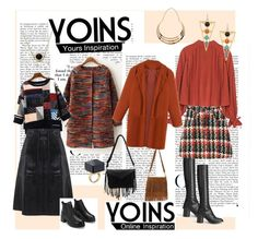 Yoins Style by steffyyeah on Polyvore featuring polyvore, moda and style