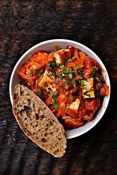 tofu w pomidorach