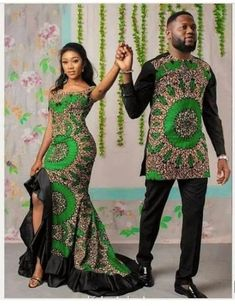 Couples African Outfits, Latest African Fashion Dresses, African Dresses For Women, African Print Fashion, Ankara Fashion, Modern African Fashion, Modern African Dresses, Nigerian Fashion, Africa Fashion