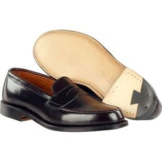 Alden Men's Leisure Handsewn Shell Cordovan Style Color 8 #: 986 | #TheShoeMart   #alden #shoes