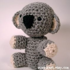 Amigurumi Koala Bear - FREE Crochet Pattern / Tutorial