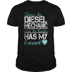 THRE'S THIS DIESEL MECHANIC - Hot Trend T-shirts