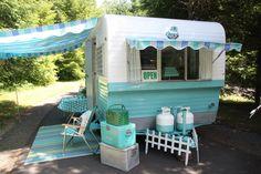 Omg. I so want this mini glamp'n trailer!!!- b