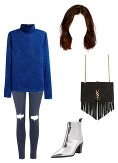 """""""Untitled #1019"""" by aracely-munoz on Polyvore featuring Topshop, H&M, Acne Studios and Yves Saint Laurent"""