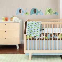 Complete Sheet Bumper-Free Crib Bedding