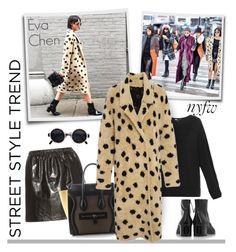 """Street Style New York Fashion Week Women's Fall/Winter 2016 - Eva Chen"" by emavera ❤ liked on Polyvore featuring Y-3, Miu Miu, Kuboraum and Thakoon Addition"