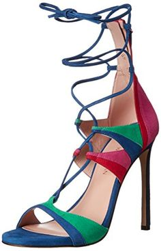 Stuart Weitzman Womens Legwrap Dress Sandal Bright 95 M US ** Find out more about the great product at the image link.(This is an Amazon affiliate link)
