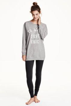 Pyjama en jersey | H&M - pour les nuits fraîches