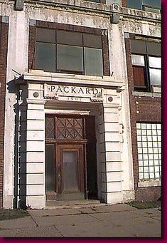 Packard Motors  Still bearing its name and date of birth, the Packard plant, though battered and worn, still hobbles along. To well built to die, it would probably last centuries if it only had to face the elements