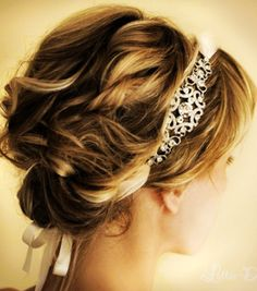 Love it   Princess Bridal Hairstyle - Glitter Crystal Hair Band
