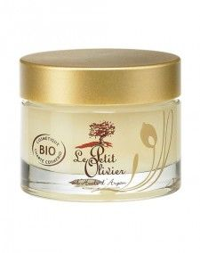 Regenerating night balm with organic Argan oil - Le Petit Olivier 11 eura