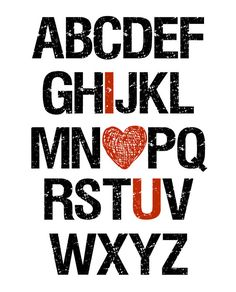 RedBarnCraftings cute little alphabet printable with I love you highlighted. Available in other colors by request.  Item is an INSTANT DOWNLOAD that contains a JPEG file. You can print this at home, at a print shop, or online through a print service company.  IMAGE SIZE: 16 inches x 20 inches (will size down to 8 x 10) FILE: JPEG  Please note, these files are only for personal use and you may not resell these files or share them with other parties. Because this is a digital item, there is NO…