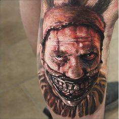 Horror Tattoo Stencils 10 best horror tattoos tattooton