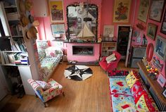 The Colourful Eclectic Home of... Josh and Caro | From Moon to ...