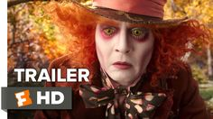 Johnny Depp's Mad Hatter In First 'Alice Through The.: Johnny Depp's Mad Hatter In First 'Alice Through The Looking Glass'… Mia Wasikowska, Famous Movie Scenes, Famous Movies, Iconic Movies, Iconic Characters, Moonrise Kingdom, Walt Disney Pictures, New Trailers, Movie Trailers