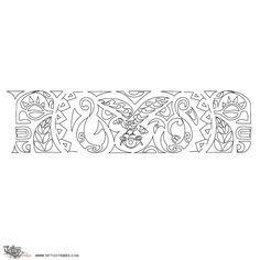 Maori Stencils Tattoo Pictures to Pin on Pinterest