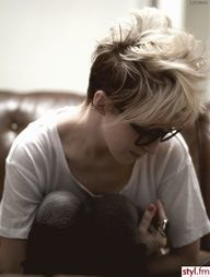 For a girl mohawk. I love it.