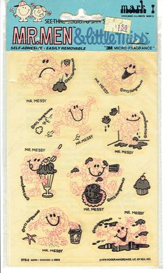 Mr Messy, Little Miss, Illinois, Bullet Journal, Men, Guys