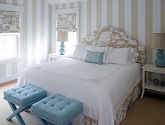 torquios black silver bedroom | ... bedrooms | Interiors - bedrooms - chinoiserie bedroom, turquoise blue