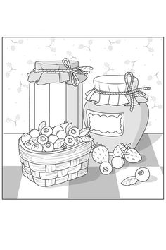 Food Coloring Pages, Adult Coloring Pages, Free Coloring, Coloring Books, Colouring, Animal Drawings, Art Drawings, Barbie Coloring, Printable Coloring Sheets