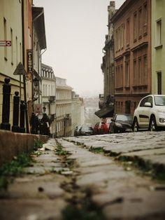 Warsaw Old Town street - Poland