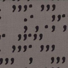 SALE Comma Commas fabric designed by Zen Chic for Moda Fabrics 1514 13