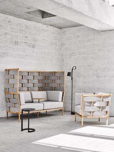 Nau has collaborated with Adam Cornish, Adam Goodrum, Gavin Harris and Jack Flanagan on everything from millennial pink armchairs to seats with elaborate woven backs.