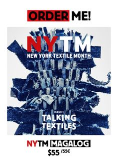 MAGALOG — New York Textile Month