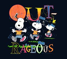 Outrageous Peanuts Cartoon, Peanuts Snoopy, Snoopy Love, Snoopy And Woodstock, Snoopy Pictures, Peanuts Characters, Joe Cool, Snoopy Quotes, Charlie Brown And Snoopy