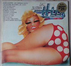 Various - Das Bleiben Hits Alice Cooper, Fleetwood Mac, Led Zeppelin, Wilson Pickett, Roberta Flack, The Doobie Brothers, Aretha Franklin, Rock, The Selection