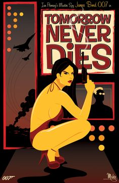 Tomorrow Never Dies by MikeMahle.deviantart.com on @deviantART