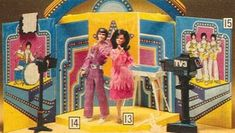 70s toys   Donny & Marie Osmond playset   Toys from the 70s & 80s