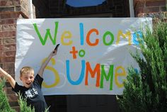 www.mommysliceoflife.blogspot.com Welcome To Summer!