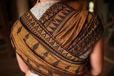 Lawilde Bronze Banjara Wrap (wool, silk)