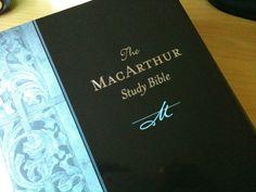 John MacArthur Study Bible. I have the ESV version.