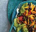Roasted Sweet Potato and Black Bean Salad