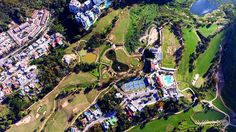 Guataparo Country Club. Golf course! #dji #djiphantom #djiphantom3 #phantom3advanced #p3a #drone #dronestagram #droneofinstagran #droneoftheday #aerial #aerialsilks #aerialvideo #aerialpicture #aerialphoto #valencia #venezuela #7d #vlza