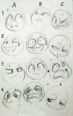 expressions drawing trendy facial poses ideas face 50 Trendy drawing poses face facial expressions 50 Ideas Trendy drawing poses face facial expressionsYou can find Drawing faces and more on our website Drawing Techniques, Drawing Tips, Drawing Sketches, Drawing Ideas, Face Sketch, Cartoon Drawings, Cute Drawings, Pencil Drawings, Random Drawings