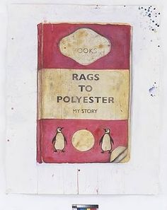 Harland Miller paints a series of melancholy beautiful and very funny reimaginings of Penguin's old fashioned book covers.