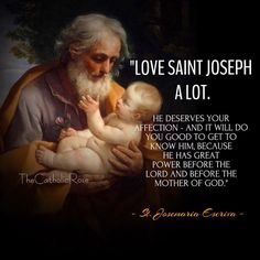 St Joseph fixed my house after I hung up a picture of him and Jesus.It all fell into place, Thank you St Joseph! Catholic Quotes, Catholic Prayers, Catholic Saints, Religious Quotes, Roman Catholic, St Joseph Catholic, Vincent Kompany, Holy Mary, Religious Pictures